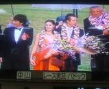 2006スプリンターズS表彰式:右端が馬主兼調教師