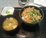 江戸川競艇1Fレストラン「メイン」の深川丼