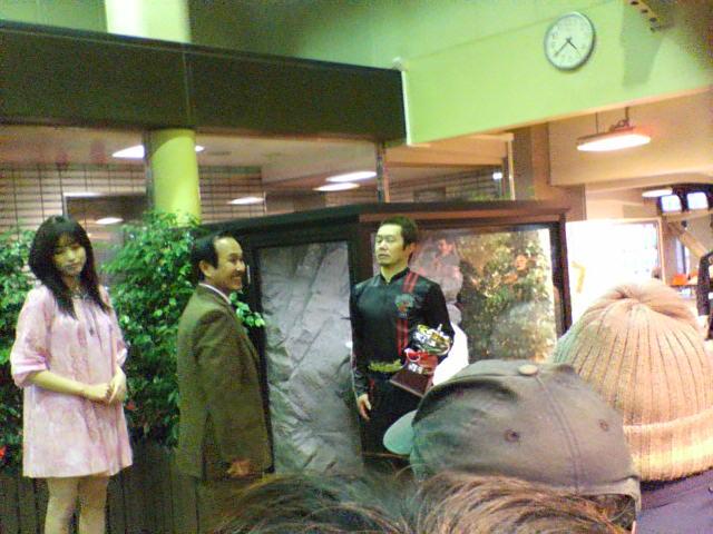 会長表彰を受ける熊谷直樹