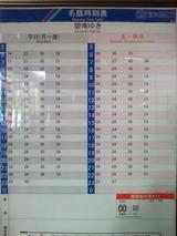 名鉄三河線刈谷駅碧南方面時刻表