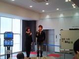 昨年12月のBP横浜開設記念トークショーに出演した中洲ダーツクラブ岡崎恭裕
