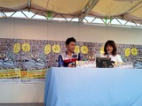前年優勝者の江戸川鉄兵