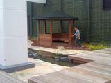 屋上庭園その1
