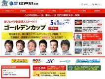 Gカップ展望サイト開設中の江戸川HP