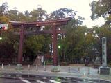 豊国神社入口