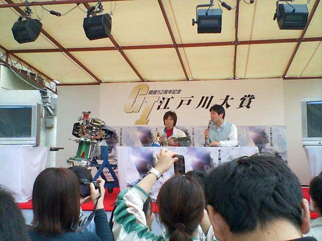 2007年G1江戸川大賞時のマルちゃん