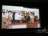 ドバイWC表彰式1