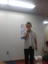 昨年平和島で行われた飯山泰トークショー