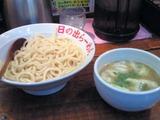 日の出らーめん立川店の剛つけ麺鶏ダシ