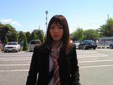 大阪支部勢と乗り合いタクシーでやってきた、昨年9月の大原由子りん