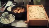 肉汁うどんのランチセット