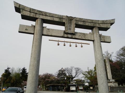 ①36中津神社鳥居