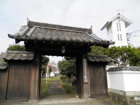②74教会門