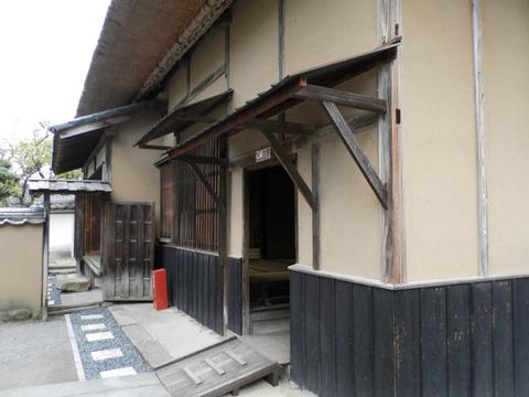 ①58福沢旧居玄関