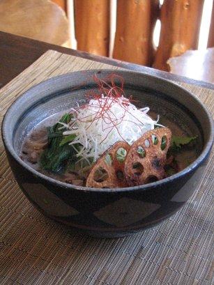 黒豆乳玄菜麺画像