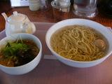 2006/11 イツワ製麺所_釜揚げつけ麺+味付け地玉子