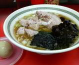 2006/11イレブンフーズ@新馬場_ラーメン+味付けタマゴ