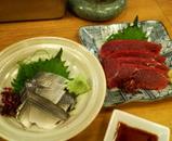 2006/11徳多和良 こはだとくじらの刺身