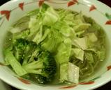 2006/11大喜@湯島_かまあげとりつけめん麺