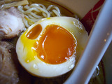 自作ラーメン祭り 拉麺志士編:あごの香る鶏醤油ラーメン:玉子
