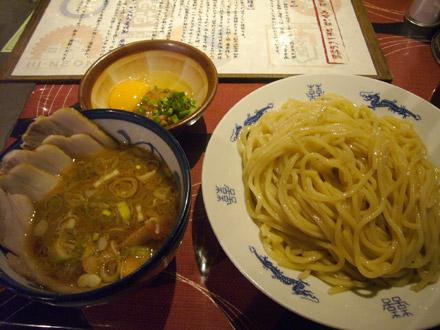 フジヤマ製麺(2):月見納豆つけめん