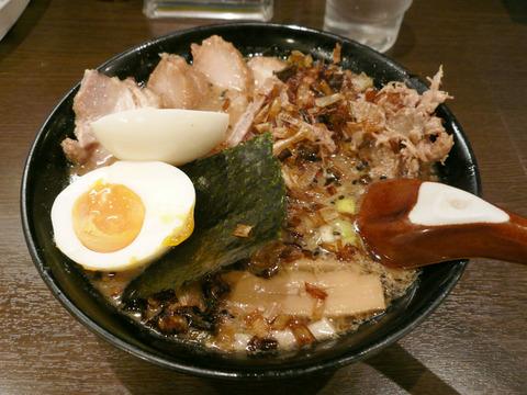 めじろ(2):味噌焦がしネギチャーシュー