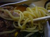大勝軒(9):麺アップ
