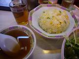 宝華(2):チャーハンとスープ