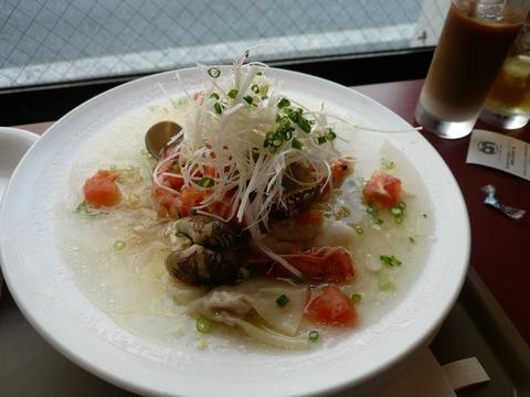 city noodle:活海鮮プレートヌードル