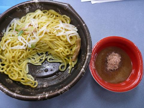 セブン・つけ麺:つけ麺 (あつもり)