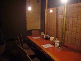 イツワ製麺所食堂:テーブル席