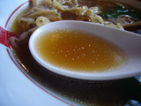 自作ラーメン祭り 拉麺志士編:あごの香る鶏醤油ラーメン:スープ