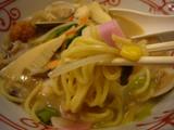 リンガーハット(8):麺