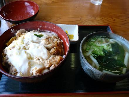 太昌うどん:親子丼セット