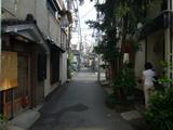 ちろりん亭:中町の路地