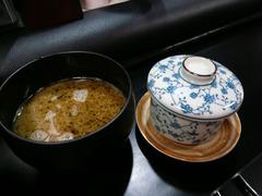 EX:ツケダレと茶碗蒸し