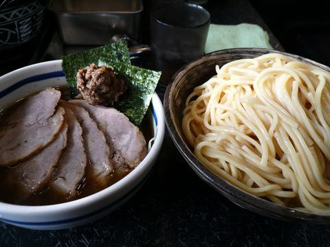 節の一分:つけ麺