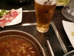 我流軒たくら:グラスビール