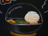 食事処やまゆり:絵の拡大2