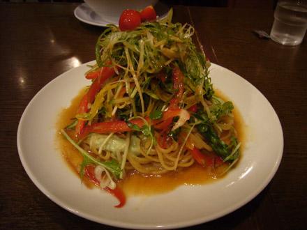 俺とカッパ(2):十五種野菜の冷やし元気麺