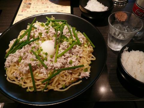 かれー麺実之和:冷たいかれー麺