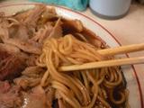 末廣ラーメン本舗(4):麺