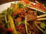 俺とカッパ(2):肉とか野菜とか