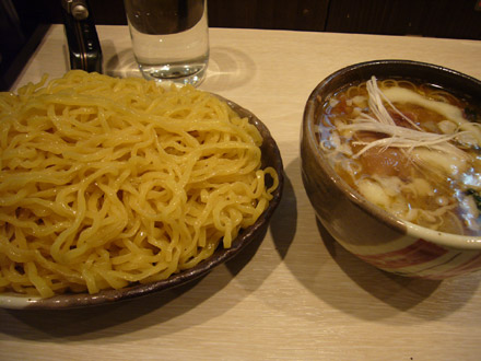 はる太郎(7):つけ麺+豚足チャーシュー・小写真