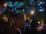 イツワ製麺所食堂:テラス席