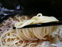比内地鶏らぅめん(2):麺