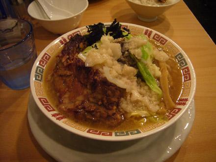ZERO(4):背脂煮干し野菜麺・小写真
