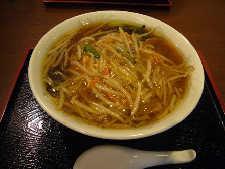 春日:サンマー麺・小写真