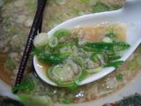 来来亭(3):ネギとスープ