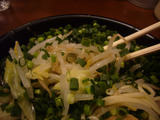 黄昏:野菜アップ